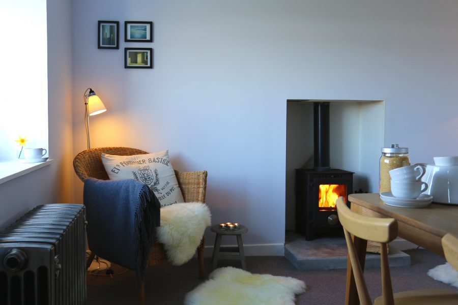 Isle of Skye Self-Catering Holiday Cottage | Skye White House | Polished Cast Iron Radiators