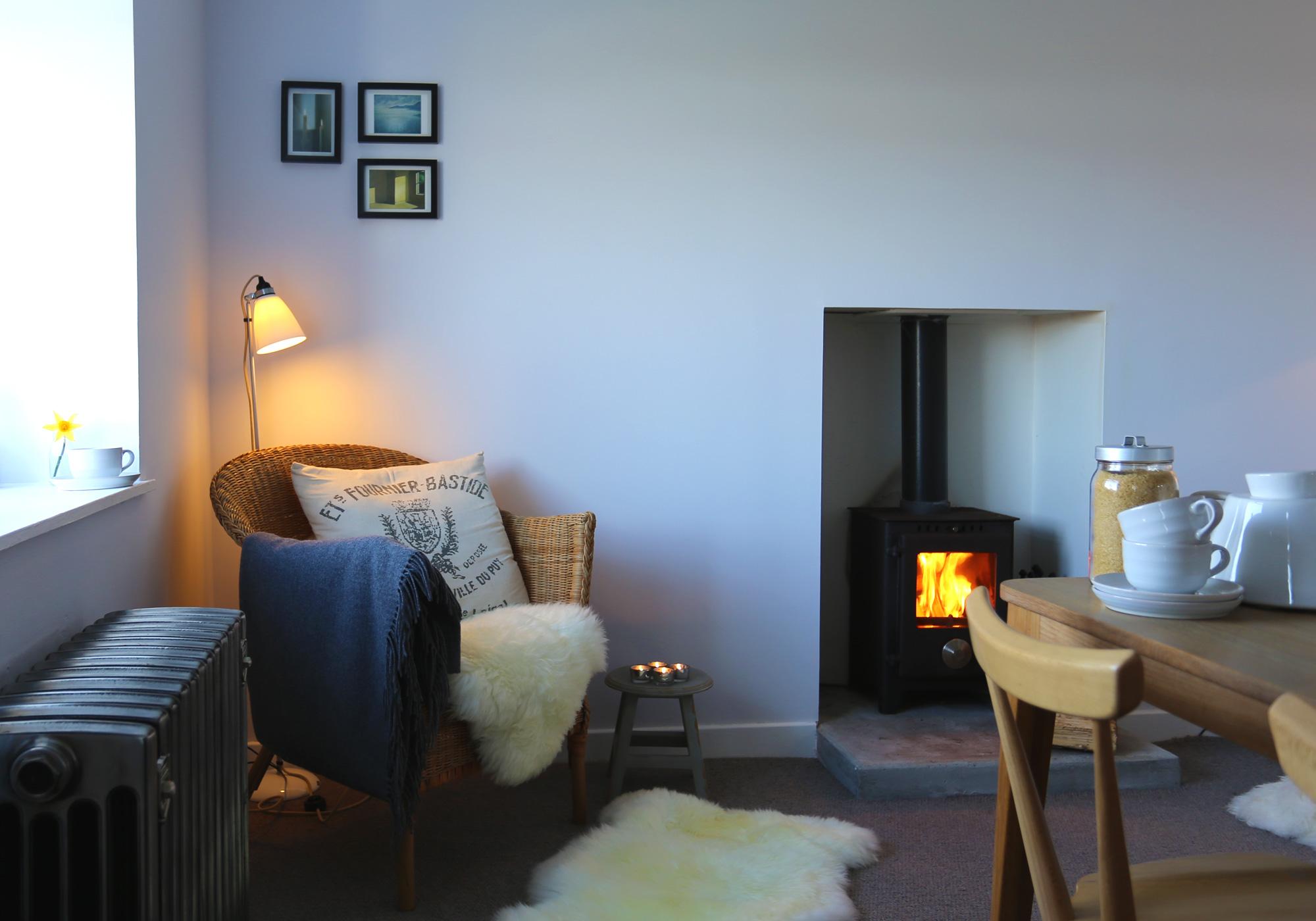 Isle of Skye Self-Catering Holiday Cottage | Skye White House | Polished Cast Iron Radiators