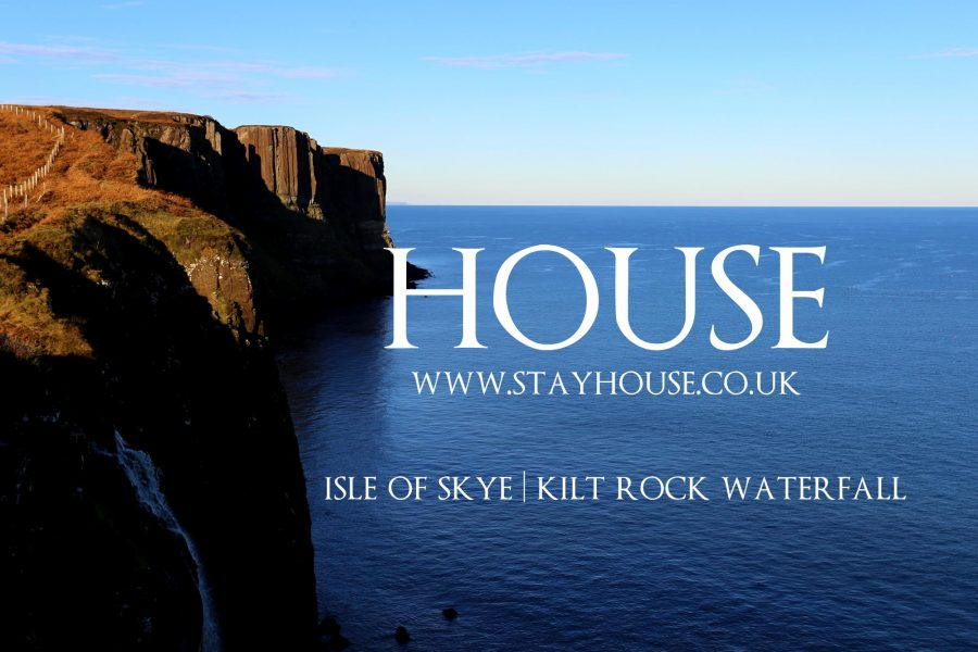 Kilt Rock Waterfall | Dinosaur Beach | Luxury isle of Skye Self-Catering
